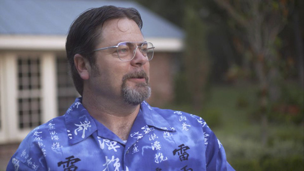 Nick Offerman in SOMEBODY UP THERE LIKES ME (Tribeca Film)