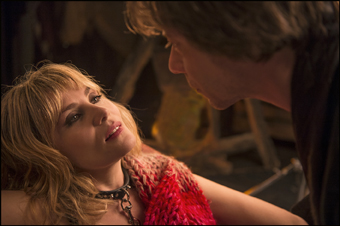 Emmanuelle Seigner and Mathieu Amalric in Venus in Fur (Cannes Film Festival)