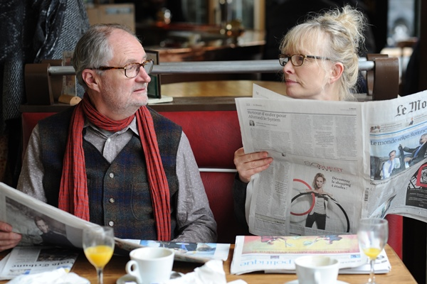 Jim Broadbent and Lindsay Duncan in Le Week-end (Film Society of Lincoln Center)