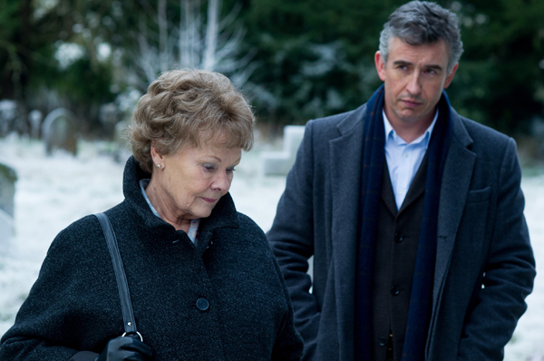 Judi Dench and Steve Coogan in Philomena (The Weinstein Company)