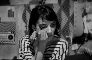 Girl (Sheila Vand) in A Girl Walks Home Alone at Night (Film Society of Lincoln Center)