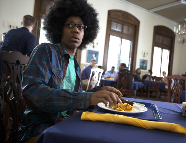 Tyler James Williams in Dear White People (Ashley Nguyen/Roadside Attractions)