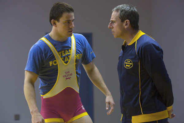 Channing Tatum and Steve Carell in Foxcatcher (Scott Garfield/Sony Pictures Classics)