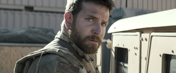 Bradley Cooper in American Sniper (Warner Brothers Pictures)