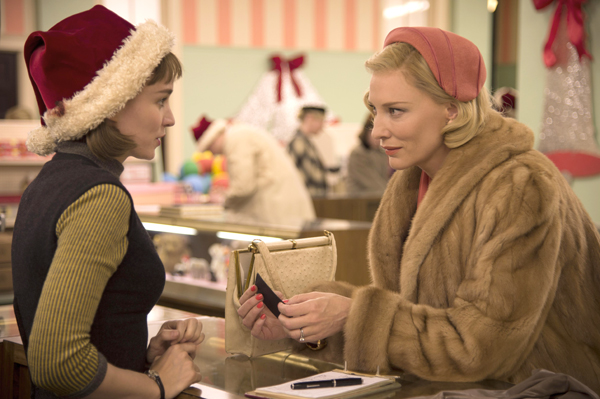 Rooney Mara and Cate Blanchett in Carol (Cannes Film Festival)