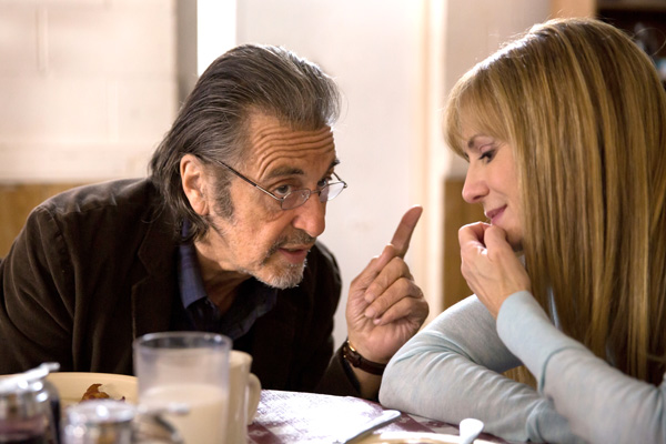 Al Pacino and Holly Hunter in Manglehorn (IFC Films)