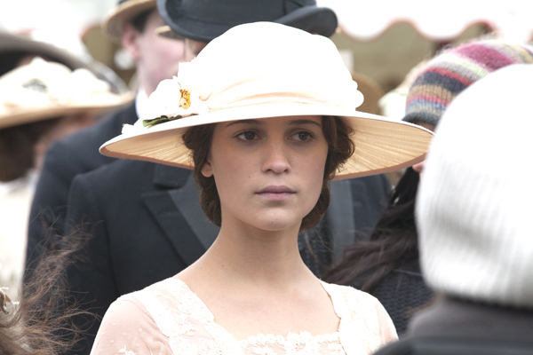 Alicia Vikander in Testament of Youth (Laurie Sparham/Sony Pictures Classics)