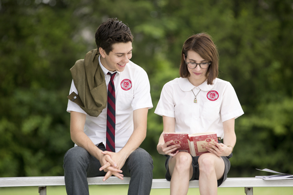 Nat Wolff and Emma Roberts in Ashby (Peter Taylor)