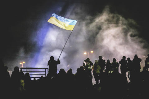 A scene from Winter on Fire: Ukraine's Fight for Freedom (Toronto International Film Festival)
