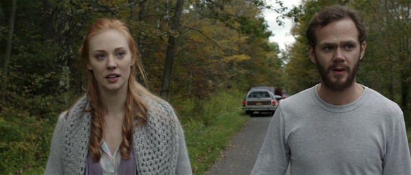 Deborah Ann Woll and Joseph Cross in The Automatic Hate (Film Movement)