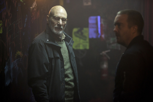 Patrick Stewart in Green Room (A24)