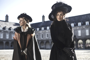 Chloë Sevigny, left, and Kate Beckinsale, in Love & Friendship (Roadside Attractions)