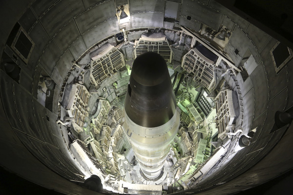 The Titan II Intercontinental combat missile in Command and Control (Ryan Loeffler)