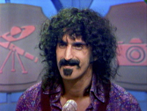 Frank Zappa appearing on What's My Line in 1971 (Fremantle Media North America/Sony Pictures Classics)