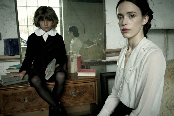 Tom Sweet and Stacy Martin in The Childhood of a Leader (IFC Films)