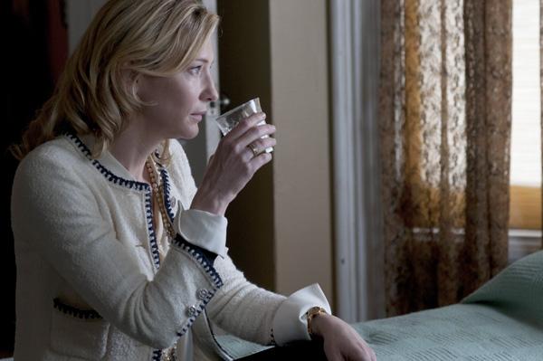 Cate Blanchett in BLUE JASMINE (Merrick Morton/Sony Pictures Classics)