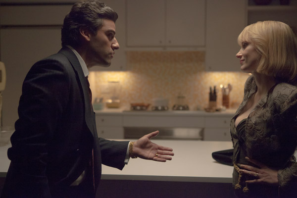 Oscar Isaac and Jessica Chastain in A Most Violent Year (A24 Films)