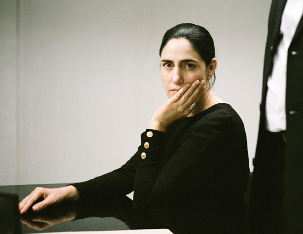 Ronit Elkabetz in Gett The Trial of Viviane Amsalem (Music Box Films)