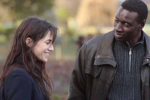 Charlotte Gainsbourg and Omar Sy in Samba (Broad Green Pictures)