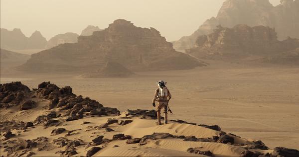 A scene from The Martian (Twentieth Century Fox)