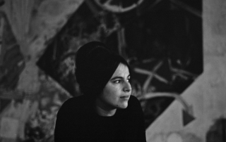 Eva Hesse, circa 1963 (Barbara Brown)