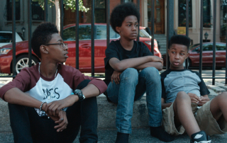 From left, Alec Atkins, Malcolm Brickhouse, and Jarad Dawkins in Breaking the Monster (Abramorama Films)