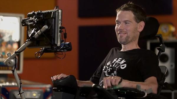 Steve Gleason in Gleason (Amazon Studios/Open Road)