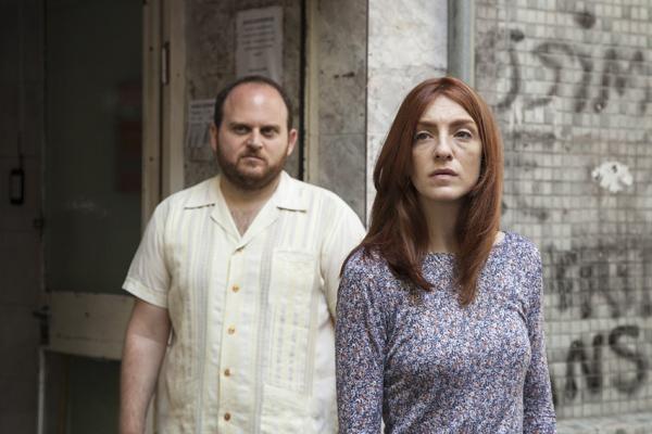 Alan Sabbagh and Julieta Zylberberg in The Tenth Man (Kino Lorber)