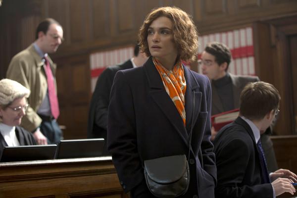 Rachel Weisz in Denial (Laurie Sparham/Bleecker Street)
