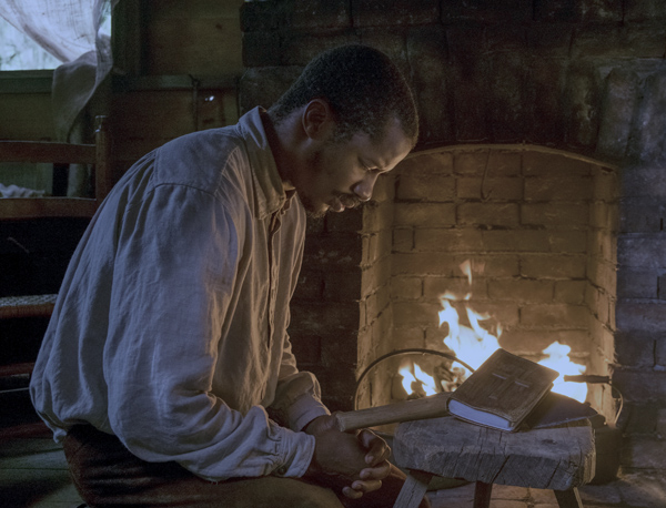 Nate Parker in The Birth of a Nation (Jahi Chikwendiu/20th Century Fox Film Corp.)